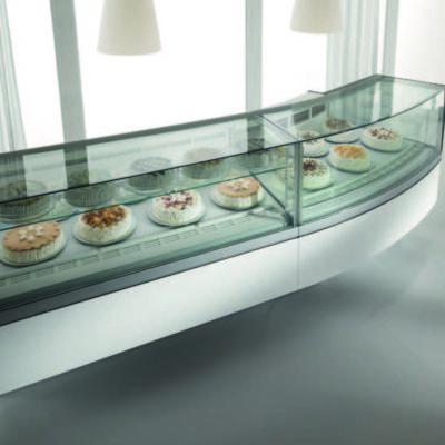 Zmrzlinová vitrína Virna
